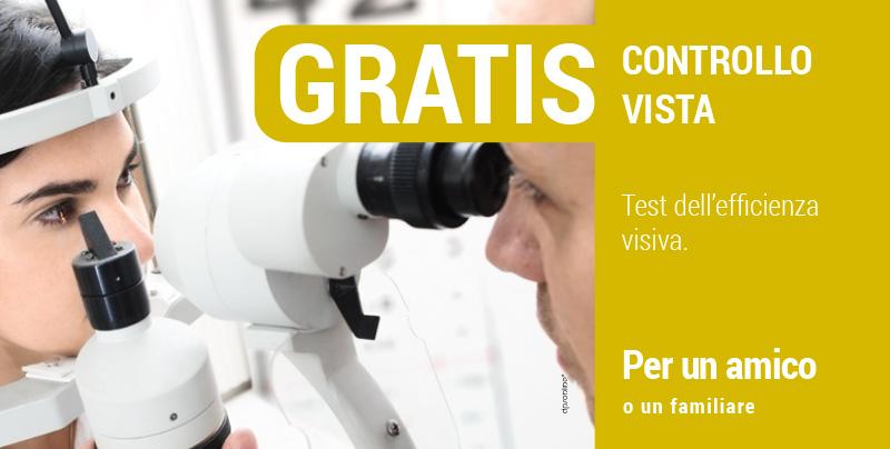 Controllo gratuito della vista, Centri Ottici Associati, Centro Ottico Castelmaggiore, Bologna