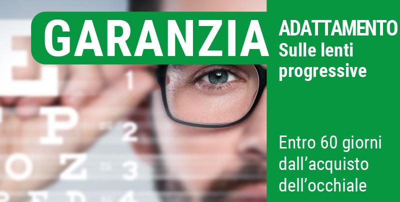Garanzia adattamento sulle lenti progressive, Centri Ottici Associati, Centro Ottico Castelmaggiore, Bologna