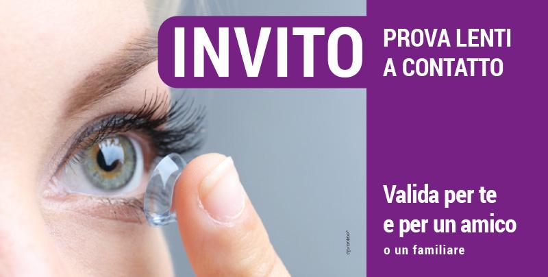 Invito prova lenti a contatto, Centri Ottici Associati, Centro Ottico Castelmaggiore, Bologna
