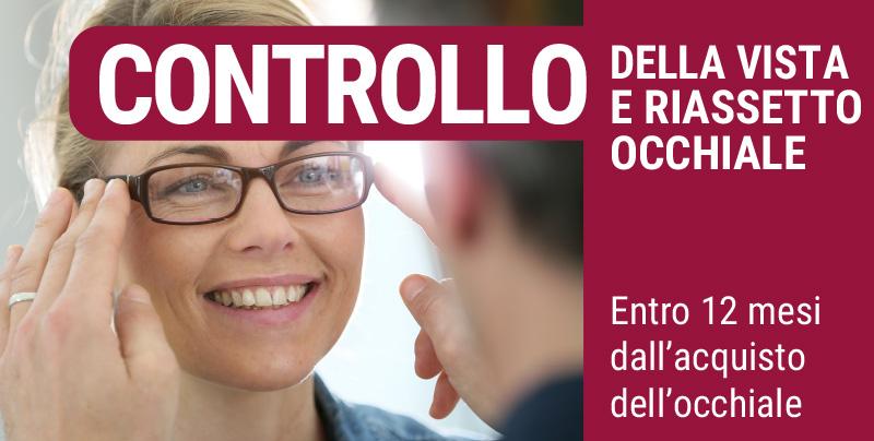 Controllo della vista e riassetto occhiale, Centri Ottici Associati, Centro Ottico Castelmaggiore, Bologna