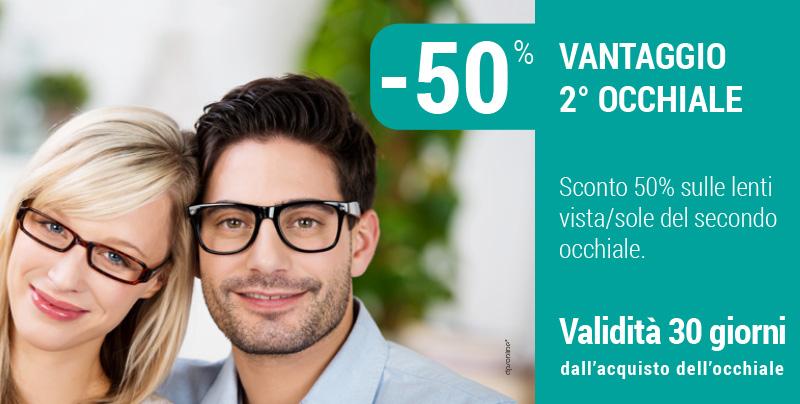 Vantaggio sul secondo occhiale, Centri Ottici Associati, Centro Ottico Castelmaggiore, Bologna