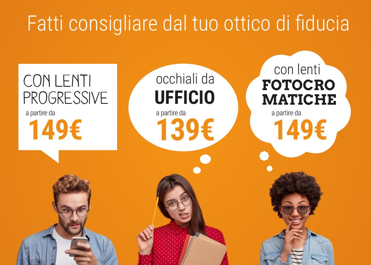 Un Occhiale per ogni esigenza, Campagna dei Centri Ottici Associati, Centro Ottico Castelmaggiore