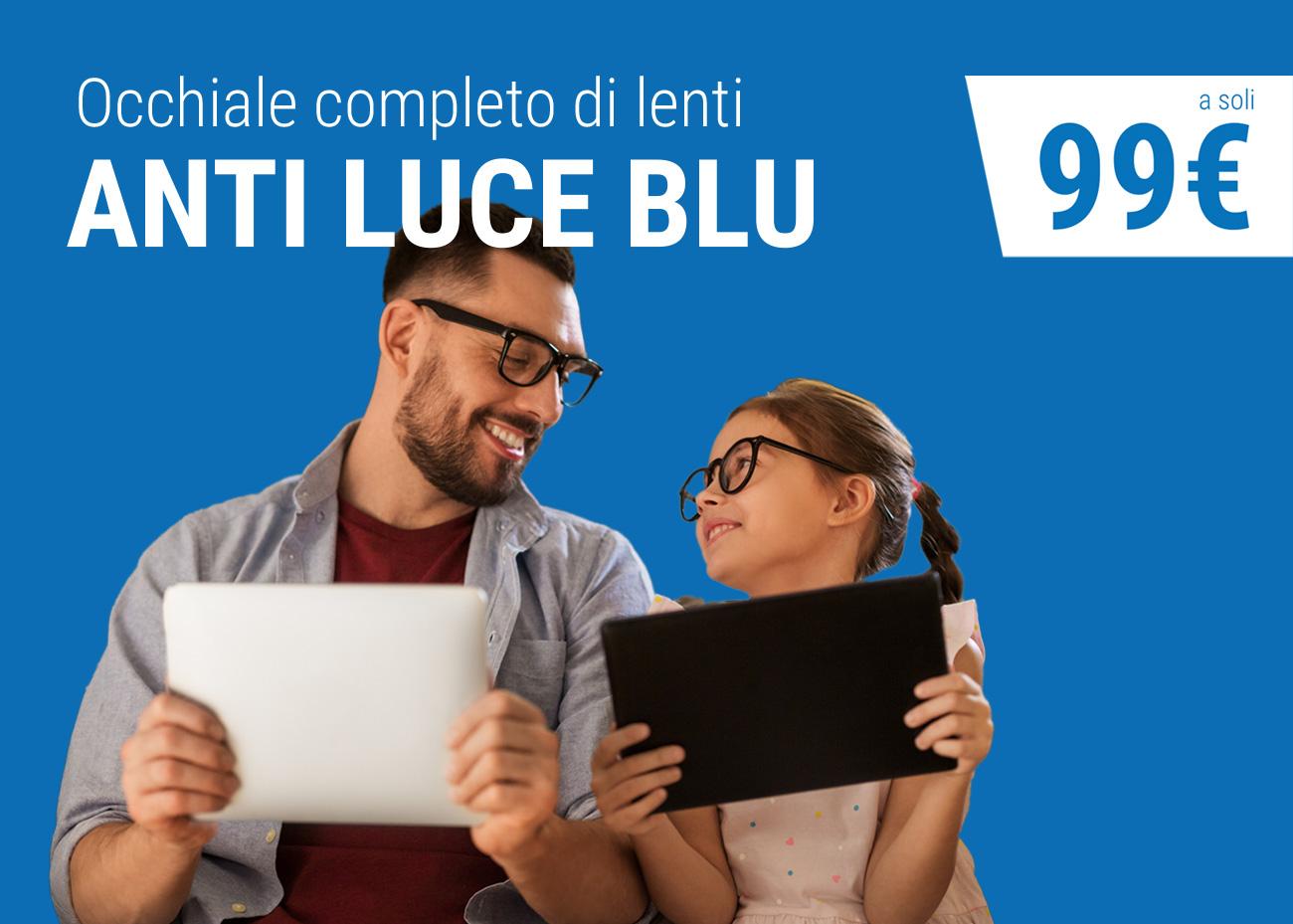 Occhiale anti luce blu, Campagna dei Centri Ottici Associati, Centro Ottico Castelmaggiore